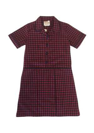 Westminster Christian Sch. Summer Tunic Navy/Red