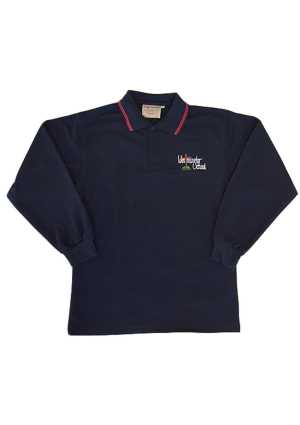 Westminster Christian Sch. LS Polo Navy/Red