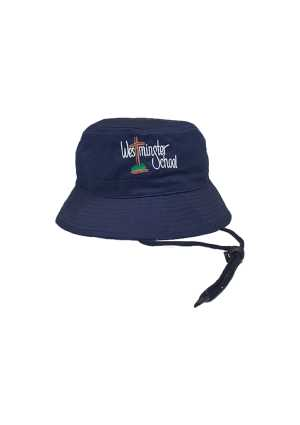 Westminster Christian Sch. Bucket Hat Navy
